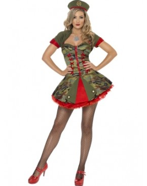 Fever Boutique Special Forces Sexy Costume