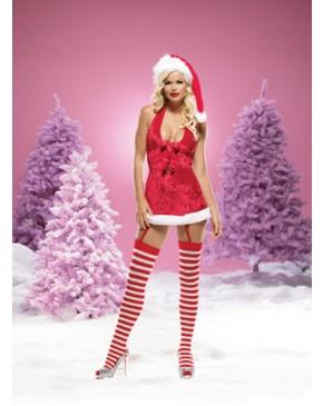 Leg Avenue Mrs Santa Dress Costume