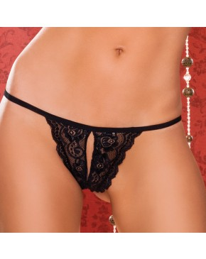 Seven til Midnight Tina Crotchless Thong