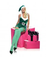 Leg Avenue Miss Christmas Elf Costume