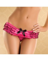 Seven til Midnight Flirty Frills Thong Pink