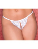 Baby Got Curves Crotchless Thong
