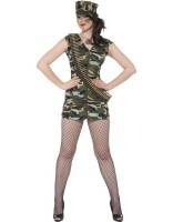 Sexy Lady Army Costume