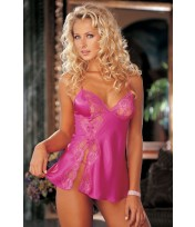 Shirley Of Hollywood Lace Babydoll 20016