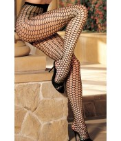 Shirley Of Hollywood Big Hole Honeycomb Fishnet Tights 90112
