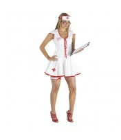 Naughty Nurse PVC Costume